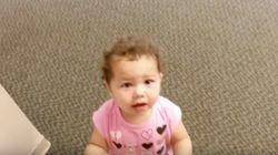娘が初めての保育園へ。お迎えの反応に...胸キュンです(動画)