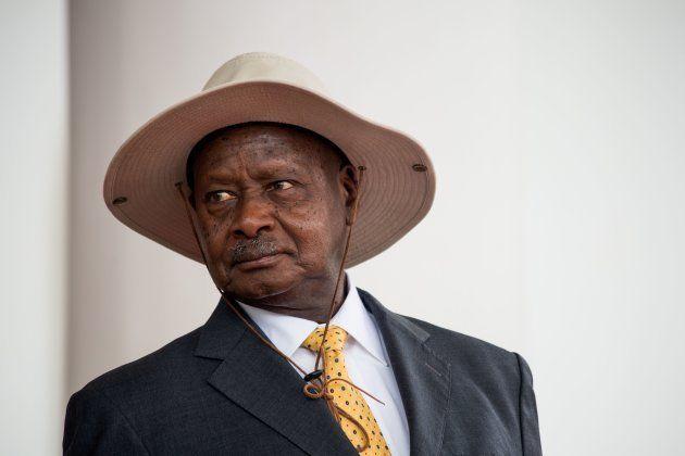 ウガンダのヨウェリ・ムセベニ大統領