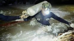 タイの洞窟で少年救助のダイバー、亡くなる