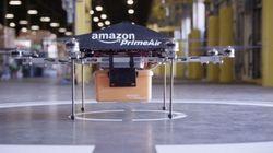 Amazonのドローンは、自宅でなくても今いる場所まで荷物を届けるようになる