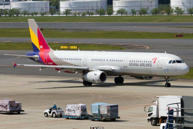 アシアナ航空の旅客機のイメージ。