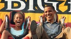 オバマ大統領のイクメンっぷりが微笑ましい。長女マリアさん18歳になったよ(画像集)