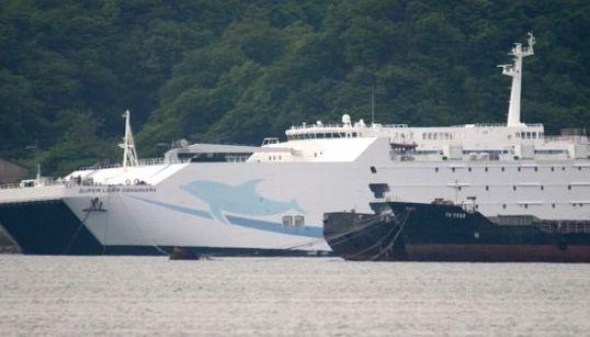 解体を待つテクノスーパーライナー 115億円の超高速船、スクラップへ(画像集)