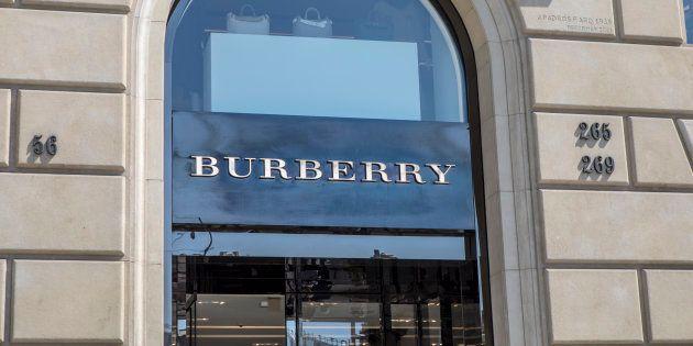バーバリーの店舗