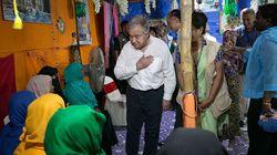 ロヒンギャ難民に支援の手を -