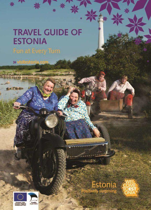 エストニア政府が作った旅行ガイドブック