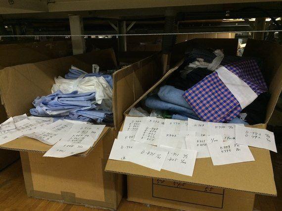 衣料品は年間約20億着捨てられている