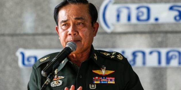 タイ軍がクーデター 政府機能の全権を掌握、夜間外出禁止令【UPDATE】