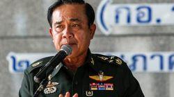 タイ軍がクーデター