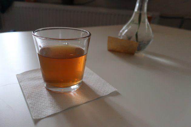レフムス・コーヒーで出された紅茶
