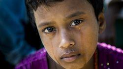 ロヒンギャ人道危機1年、ミャンマー国内で恐怖の記憶に苦しむ子どもたち