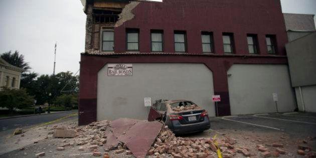 アメリカ・カリフォルニア州北部で地震 M6.0、住宅火災、停電など発生