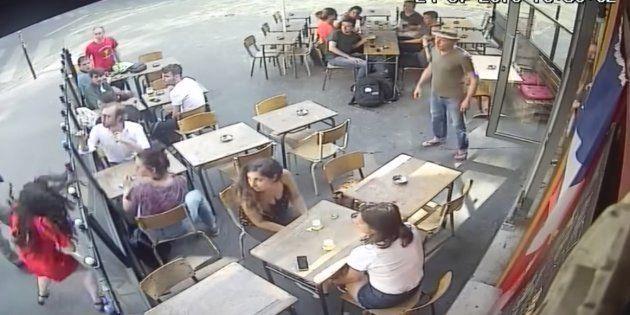 セクハラに抗議した女性を殴った男、世界に動画が広まり暴行容疑で逮捕