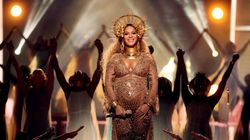 ビヨンセ、神々しい双子の妊婦姿でグラミー賞に登場