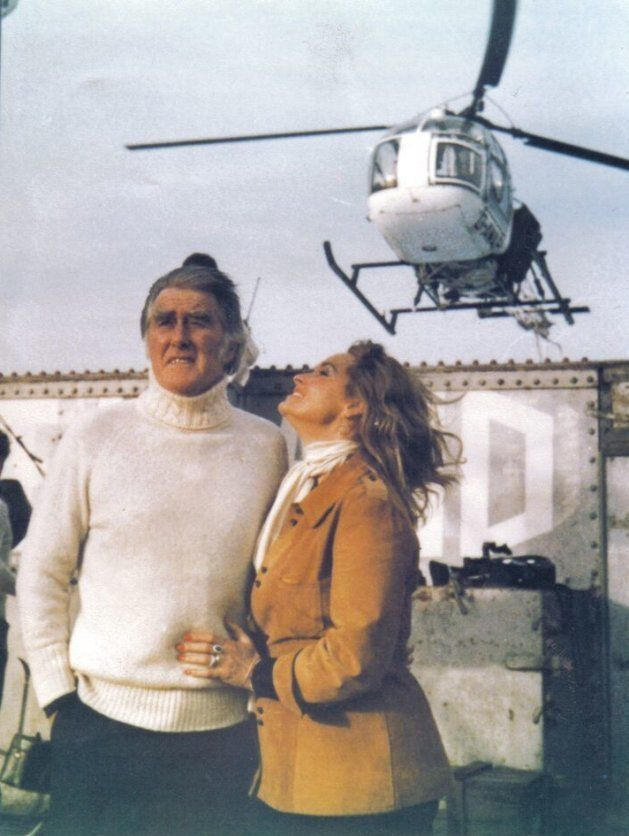 ロイ・ベーツ公(左)と、妻のジョアン公女