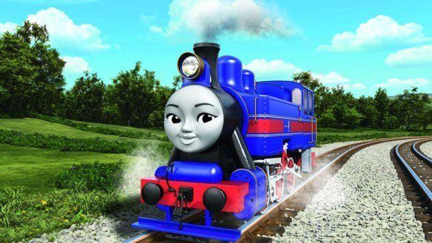 中国出身の女の子機関車Hong