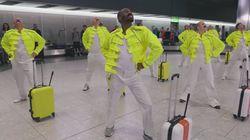 故フレディ・マーキュリーの誕生日 イギリス・ヒースロー空港の従業員が祝う
