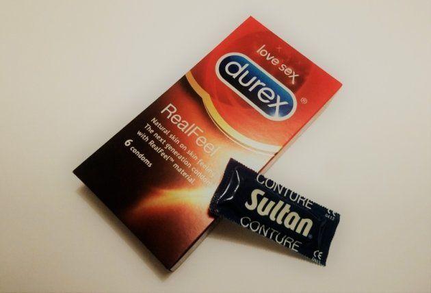 避妊の責任を男性側にも持たせる効果がある?コンドーム(筆者撮影)