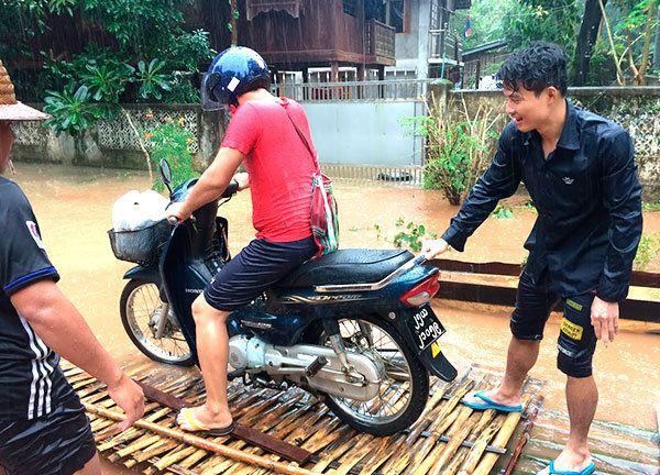 ミャンマー:非常時に垣間見る、しなやなか心
