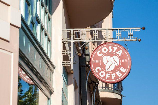 イギリス大手のコーヒーチェーン「COSTA」
