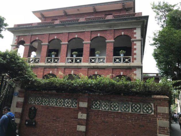 アモイ・コロンス島の旧日本領事館(筆者撮影)