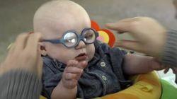 視覚障がいの赤ちゃんが、ママを初めて見つめた日。