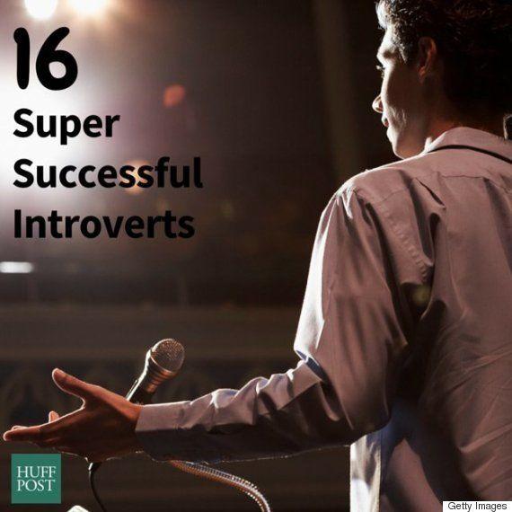大きな成功をおさめた、13の内向的な人たち