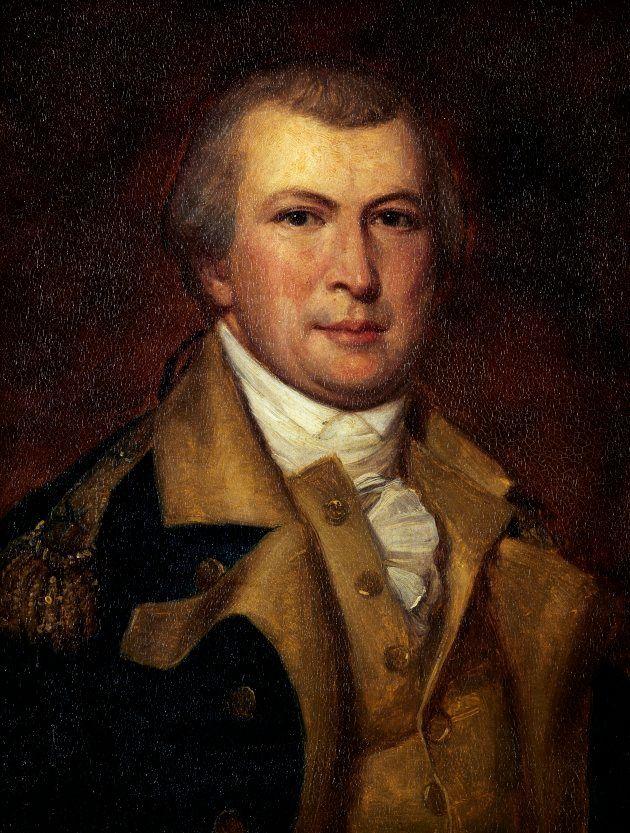 ナサニエル・グリーンの肖像画