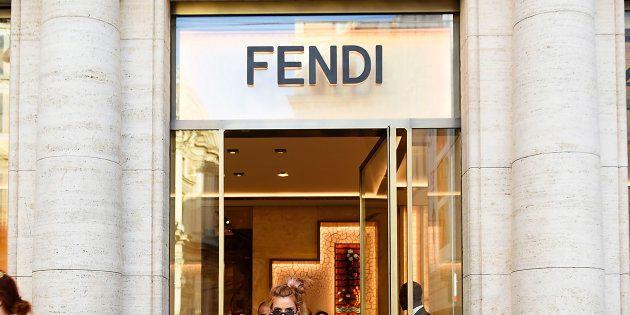 イタリア・ローマにあるフェンディの店舗