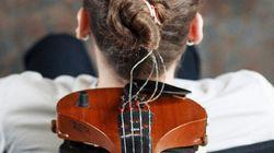 髪の毛から本物のバイオリンを作り演奏する【動画】