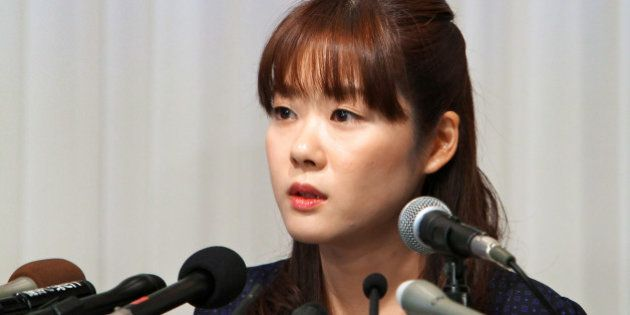 Haruko Obokata, a researcher at Riken research institution, speaks during a news conference in Osaka, Japan, on Wednesday, April 9, 2014. Japans Riken research center said on April 1 some data were falsified in a pair of studies that had outlined a simpler, quicker way of making stem cells. Obokata, who had led the studies, told reporters today she was able to replicate STAP stem cells more than 200 times. Photographer: Tetsuya Yamada/Bloomberg via Getty Images