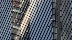 「フランスのスパイダーマン」200メートルの高層ビルを素手でよじ登る⇒逮捕(動画)