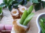 「食べられる門松」がちくわでできた!