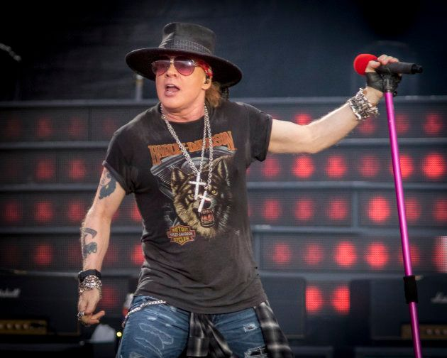Fans shocked that Axl Rose is 'the voice of reason' after he comes out against the 'obscene' Trump White