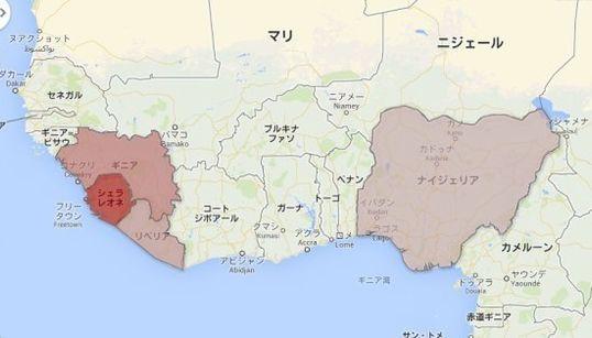 エボラ出血熱 死者1400人超える 感染者・死亡者マップ【8月27日更新】