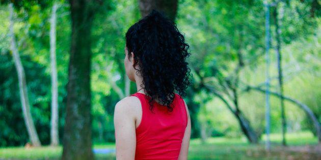 少女のイメージ写真