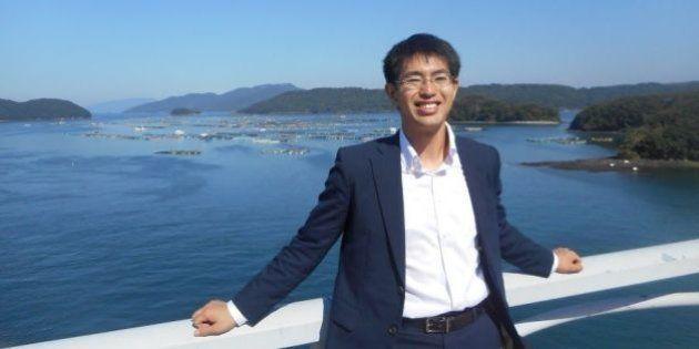 地方創生に取り組む鹿児島県長島町の副町長、井上貴至さん