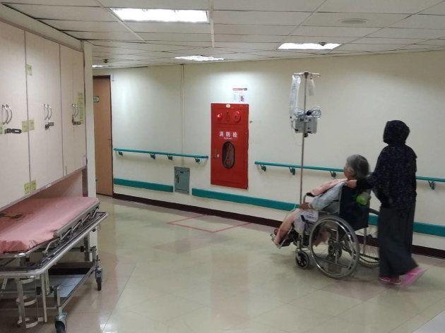 江孟庭先生(台北市立病院仁愛分院)提供