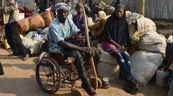 中央アフリカ共和国、抗争で孤立する障がい者たち