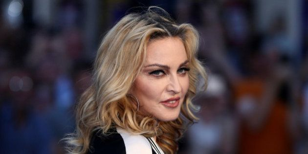 U.S. singer Madonna attends the world premiere of 'The Beatles: Eight Days a Week - The Touring Years'...