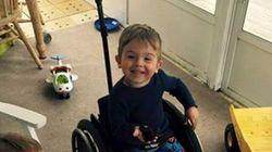 車椅子の3歳男の子が叶えた、とってもささやかな願いごと。