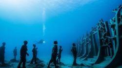 ヨーロッパ初の海底美術館が出現。美しい彫刻にはある願いが込められている(画像)