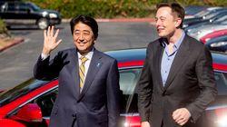 テスラのイーロン・マスクCEO「日本で整備拠点を新設」