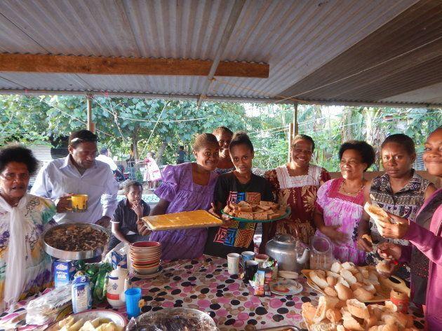 90歳になるおじいちゃんの誕生日会には総勢30人前後の家族が集まりました
