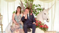「自分を信じれば夢は叶う」ダウン症のカップルがマジカルな結婚式に込めたメッセージ