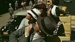 「1939年夏のNY」をリアルに伝える、貴重なカラー動画