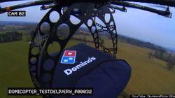 ドミノピザの宅配用無人ヘリ「ドミコプター」(動画)