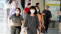 バンコクで大気汚染が深刻化 マスクが品切れになる店が続出している