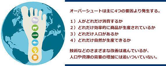 地球の「使い過ぎ」注意報!8月19日は「アース・オーバーシュート・デー」