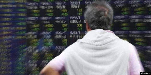 日経平均株価、大幅下落 今年3番目の下げ幅